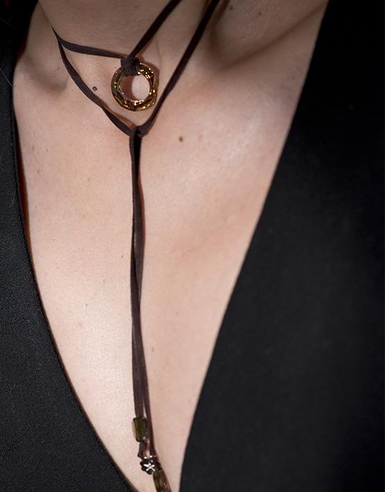Stella Ambrata colliers femme oceana