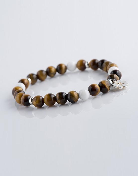 Stella Ambrata bracelet homme Oeil de tigre