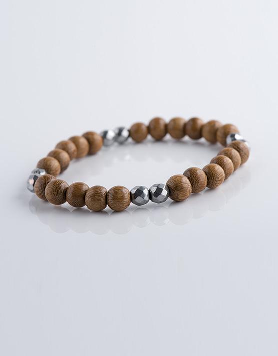 bracelet homme wooden stella ambrata. Black Bedroom Furniture Sets. Home Design Ideas