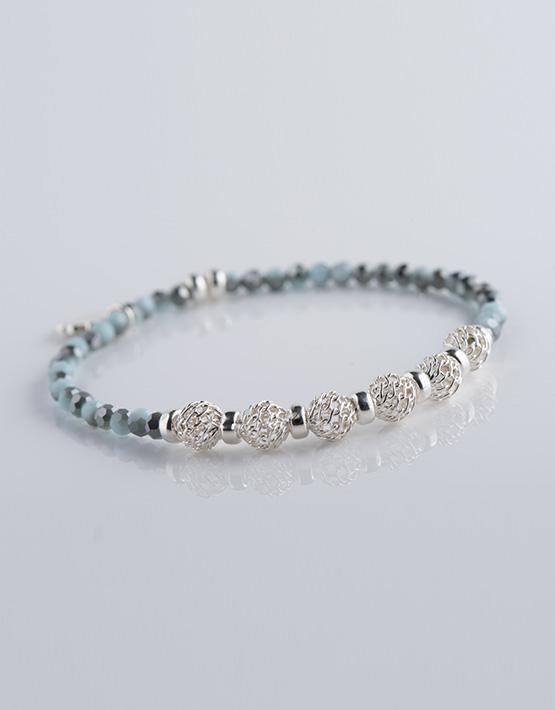 bracelet femme perles