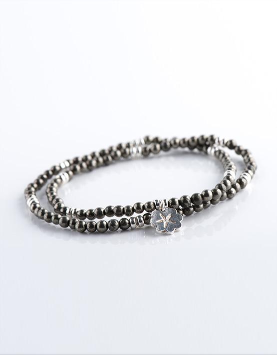 Stella Ambrata femme bracelet Pyrite