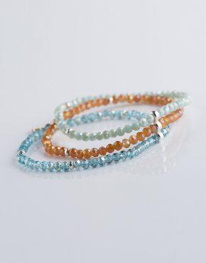 Stella Ambrata femme bracelet bohemain chic